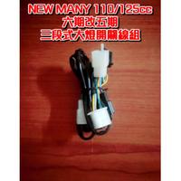 NEW MANY 110/125 台灣製造 六期改五期 線組  光陽 KYMCO