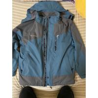[CHAMOIS]可拆式防風防水連帽保暖外套(九成新)