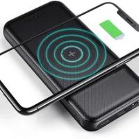 CHOETECH ไร้สายโทรศัพท์มือถือ Qi Charger แบบพกพาสำหรับ IPhone 12 Pro Max 10000MAh QC 3.0 18W USB C PDpower