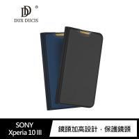 【愛瘋潮】99免運  DUX DUCIS SONY Xperia 10 III SKIN Pro 皮套 可立支架