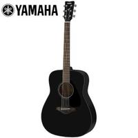 【YAMAHA 山葉】FG800 BL 民謠木吉他 酷炫黑色(附贈琴袋 背帶 以及彈片)