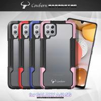【Cowborn】for Samsung Galaxy A42 5G 雙色甲蟲防摔手機殼