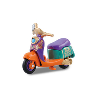 【Fun心玩】DS89297 麗嬰 正版 TOMICA Disney 夢幻 迪士尼 艾莉絲 愛麗絲 摩托車 魔鏡夢遊