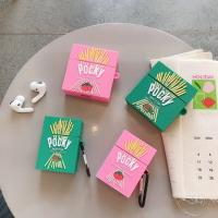 Pocky 固力果 巧克力棒 airpods1/2代通用 3代pro 矽膠保護套 台灣現貨