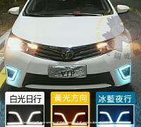 🔥現貨發出🔥Toyota Altis 阿提斯 11代 ALTIS 14 15 16 專用LED日行燈 三色燈 霧燈改裝