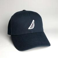 美國百分百【全新真品】Nautica 帽子 配件 老帽 帆船牌 棒球帽 男帽 遮陽帽 鴨舌帽 LOGO 深藍 C921