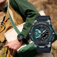 【CASIO 卡西歐】G-SHOCK 一起冒險去 碳核心防護構造雙顯計時手錶(GA-2200M-1A)