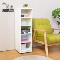 【南亞塑鋼】1尺開放式五格收納置物櫃/隙縫櫃/鞋櫃(彩色版)