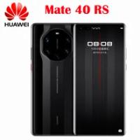 ใหม่ Original Official Huawei Mate 40฿ Parsche 5G สมาร์ทโฟน Kirin9000 6.76 ''OLED 50MP IOS 10X ซูม66W Super Charge