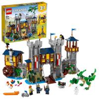 【LEGO 樂高】創意百變系列3合1 中世紀古堡 31120 城堡 市集(31120)