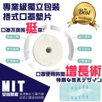 【防疫特選必備】MIT延長口罩使用時間墊純棉-X001(口罩 口罩延長布 布口罩 外科口罩)