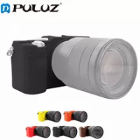 PULUZ Soft Silicone Case For Sony A7C / ILCE-7C Rubber Camera Protective Body Cover Skin For Sony A9 (ILCE-9 )/A7 III / A7R III