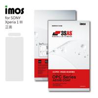 """""""扛壩子"""" 免運 imos 3SAS Sony Xperia 1 III X1iii 螢幕保護貼 含鏡頭貼"""