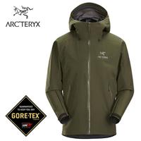 【ARCTERYX 始祖鳥 加拿大】Beta LT 防水外套 登山夾克 風雨衣 男款 龍紋綠 (L07539300)