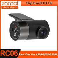70mai Rear Cam for 70mai 4K Dash Cam A800 70mai 4K Car DVR A800 Rearview cam