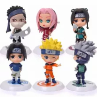 ใหม่18 Q รุ่น Uzumaki Naruto Shippuden อะนิเมะพีวีซี Action Figure Hatake Kakashi Naruto รูปปั้นสะสม Figma ของเล่นของขวัญ