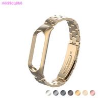 小米蘋果錶帶♠手錶錶帶 小米手環6 小米手環5 雙彈簧三珠金屬錶帶 不鏽鋼錶帶 雙彈簧錶帶 手環5 小米手環 小米手環