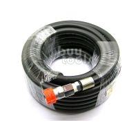 BuyTools-《專業級》四分*5M空壓管高壓管氣動工具風管/雙層PVC+密紗夾層/附工業級快速接頭/台灣製造「含稅」