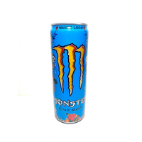 Z°限量♠出售σ 全新 【 MONSTER ENERGY 魔爪 芒果狂歡能量碳酸飲料-芒果風味 355毫升 】 快速出貨
