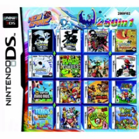 280 Games in 1 Video Game Card Cartridge for Original Nintendo NDS NDSL NDSI NDSiLL/XL 2DSLL/XL 2DS 3DS 3DSLL/XL