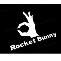 火箭兔ROCKET BUNNY貼紙豐田86改裝車貼BRZ寬體套件貼紙機車貼紙重度改裝超商取貨海拉風寬體