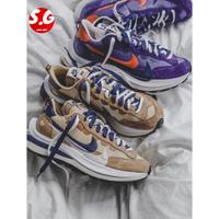 S.G NIKE X SACAI VAPORWAFFLE 聯名 男女鞋 芝麻 卡其 DD1875-200 紫金 500