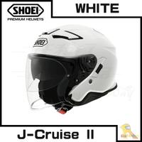 預購商品 任我行騎士部品 SHOEI J-Cruise II 半罩 3/4 內墨片 除霧片 藍芽直上 J cruise2 白色 可PFS