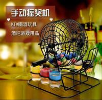 抽獎轉盤 KV喝酒玩具酒具 喝酒道具 美式搖獎機歐美酒具 喝酒游戲酒吧用具