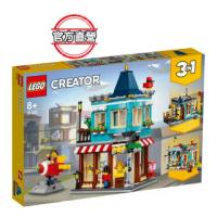 【LEGO 樂高】創意百變系列3合1 排屋玩具店 31105 創意遊戲 模型(31105)