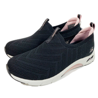 SKECHERS 女鞋Skech-Air Arch Fit氣墊鞋 健走鞋 套入款 足弓支撐 104251BKLP【陽光樂活】(C8)