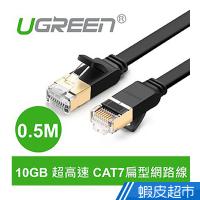 綠聯  0.5M CAT7網路線  FLAT版  現貨 蝦皮直送