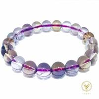 【金富發】玻利維亞天然紫黃晶手鍊10mm