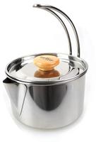 日野戶外~【CAMP-LAND】RV-ST250 不鏽鋼 燒水壺 茶鍋  煮咖啡 泡麵 湯鍋.水壺 開水 泡茶 露營 野營