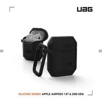 【UAG】AirPods 耐衝擊防塵保護殼V2-黑(UAG)