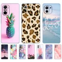 For xiaomi Mi 11 | Mi 11 Lite 5G | Mi 11i | Mi11 Lite 4G Case Silicon TPU Back Phone Cover For xiaomi11 i 11Lite Xiomi Mi11Lite