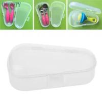 ใหม่แปรงสีฟันเด็กกรรไกร Teether จุกนมหลอกกระเป๋าเดินทางกล่อง #330