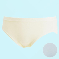 【Wacoal 華歌爾】新伴蒂系列 M-LL中高腰舒適小褲(淺水藍)