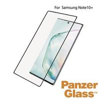 【PanzerGlass】Samsung Galaxy Note10 Plus 2.5D耐衝擊高透鋼化玻璃保護貼(黑)
