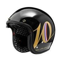 任我行騎士部品 Astone SP3 K127 十周年限定 3/4 復古帽 半罩 內墨片 388 輕量化 黑金