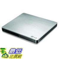 [107美國直購] 光碟機 LG Electronics 8X USB 2.0 Super Multi Ultra Slim Portable DVD Rewriter External Drive GP60NS50