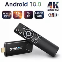 Mini Android Tv Stick Box TV Android 10 4K Android Tv Box Wifi Smart Tv Box Media Player TV Receiver Set Top Box Android 10
