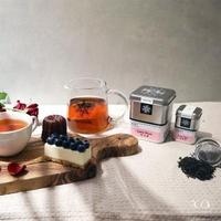 【samova 歐洲時尚茶飲】有機伯爵紅茶/天然佛手柑製成/Lazy Daze 白日夢(Tea Tin Mini系列)