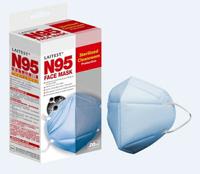 萊潔LAITEST N95醫療防護口罩-藍/ 20入盒裝