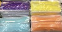 【肽揚醫材】台灣製 成人平面口罩(橘色、紫色、黃色、) 50入現貨供應中~