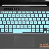 "Keyboard Skin Cover for 14"" ASUS ROG Zephyrus G14 Gaming Laptop ASUS ROG Zephyrus G14 GA401 GA401IH GA401II GA401IU GA401IV"