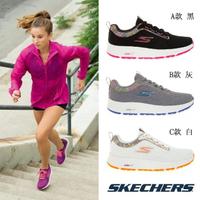【SKECHERS】女 碎花輕量慢跑鞋(128271BKPK/128271GYLV/128271WOR)
