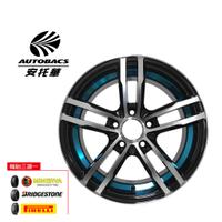 ADV08內圈藍 鋁圈 15吋/4孔100/6.5J/ET38 -  輪胎185/60/15 四輪四圈組合/輪胎三選一