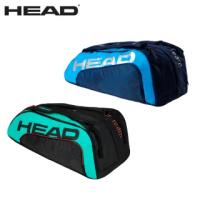 【HEAD】12支裝球拍袋 TOUR TEAM MONSTERCOMBI 網球拍袋 衣物袋 適壁球羽毛球拍(283130)