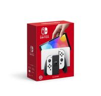 秋葉電玩 任天堂  NS Switch OLED 白色 主機 組合禮包 台灣公司貨 原廠保固一年 10/8上市