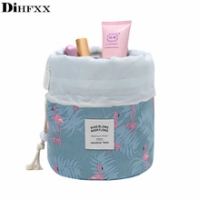 DIHFXX ผู้หญิงขี้เกียจกระเป๋าสตางค์เครื่องสำอางกระเป๋าแฟชั่นกระเป๋าเดินทาง Make Up กล่องเก็บกระเ...